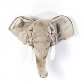 Trophée en peluche éléphant