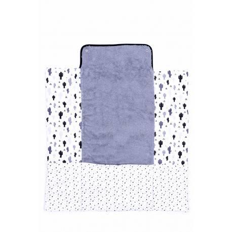 matelas langer nomade bleu kerael b b angel. Black Bedroom Furniture Sets. Home Design Ideas