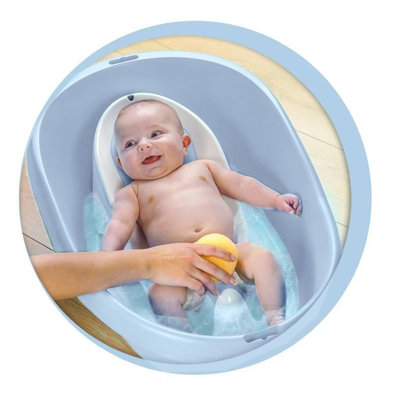 Lot Baignoire Pour Bebe Et Transat De Bain