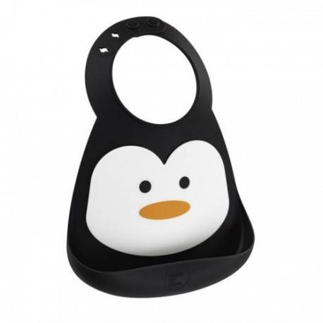 Bavoir silicone Pingouin Make My Day